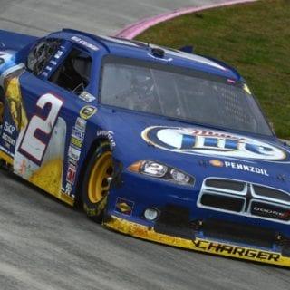 2012 Brad Keselowski NASCAR Sprint Cup Champion (Martinsville Speedway)