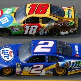 2012 Brad Keselowski NASCAR Sprint Cup Champion (Talladega SuperSpeedway)