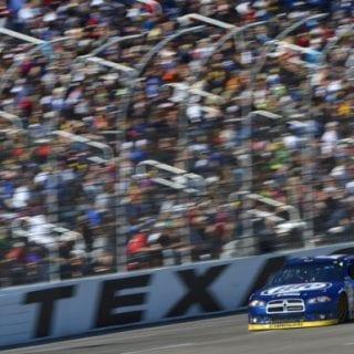2012 Brad Keselowski NASCAR Sprint Cup Champion (Texas Motor Speedway)
