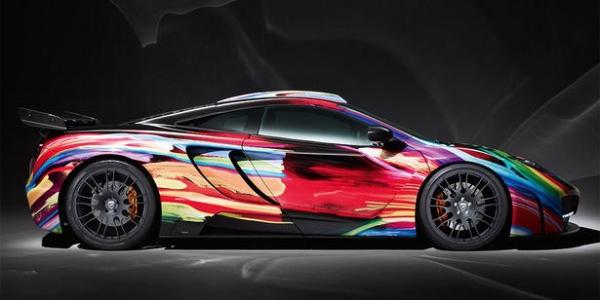 McLaren 12C Art Car