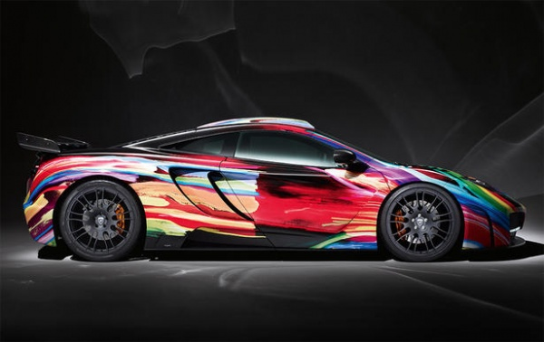 2012 Hamann memoR McLaren MP4 12C Art Car (INDUSTRY)