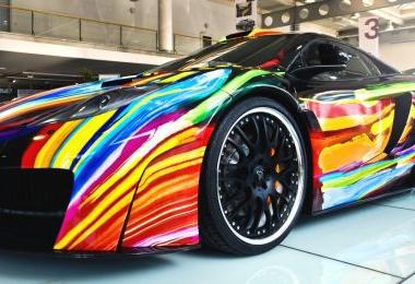 2012 Hamann memoR McLaren MP4 12C Art Car (INDUSTRY)