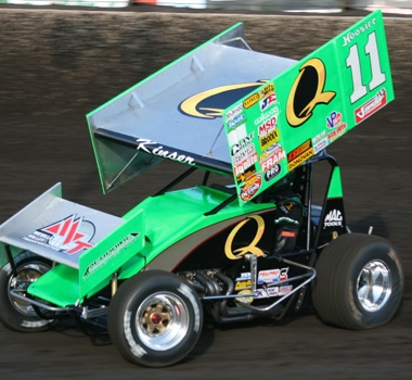 2012 Steve Kinser At Husets Speedway (World of Outlaw Sprint Cars)