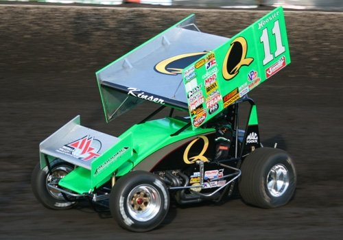 2012 Steve Kinser At Husets Speedway (World of Outlaw Sprint Cars)