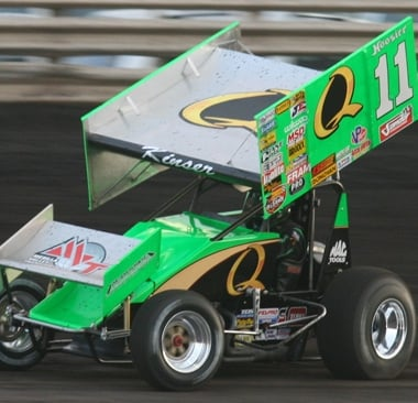 2012 Steve Kinser At Knoxville Raceway (World of Outlaw Sprint Cars)