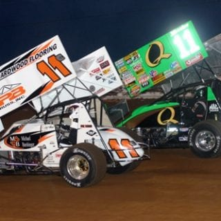 2012 Steve Kinser At Williams Grove Speedway (World of Outlaw Sprint Cars)