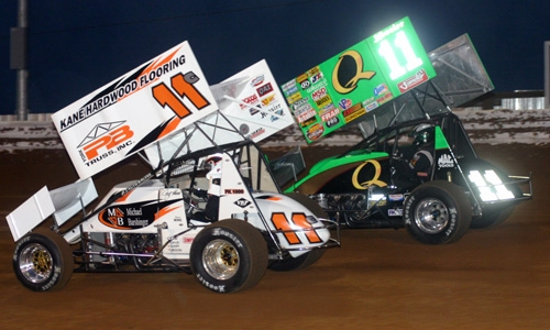 DIRT SPRINT CAR: Steve Kinser World Of Outlaws Season Recap (VIDEO)