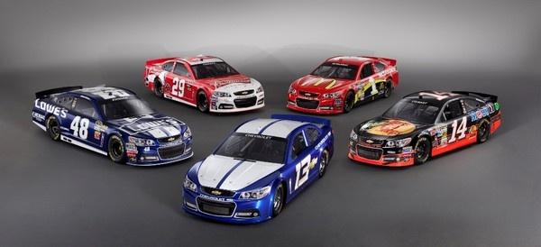 2013 NASCAR Chevrolet SS (NASCAR Cup Series)