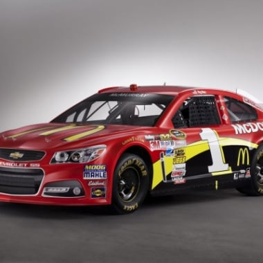 2013 NASCAR Chevrolet SS Unveiling (Jamie McMurray)