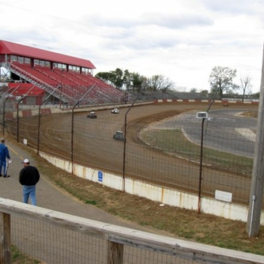 Elko Speedway Covered In Dirt (World of Outlaw Sprint Cars)