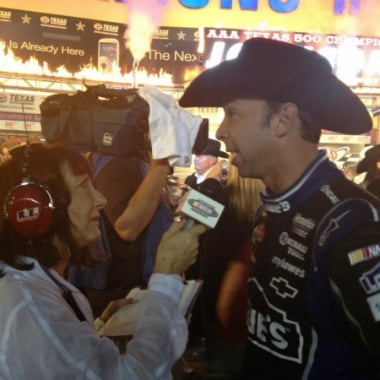 Jimmie Johnson Wins At Texas Motor Speedway (NASCAR Sprint Cup Series)