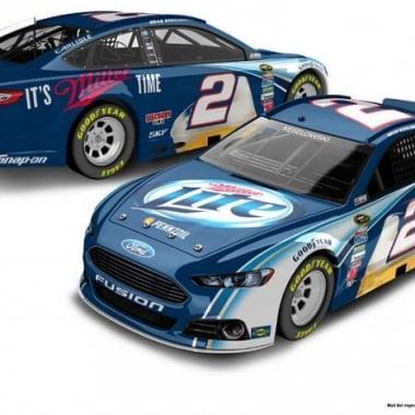 2013 Brad Keselowski MillerLite Racecar (NASCAR Cup Series)