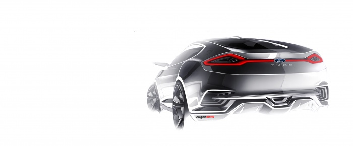 INDUSTRY: Ford EVOS Concept Vehicle (PHOTOS)