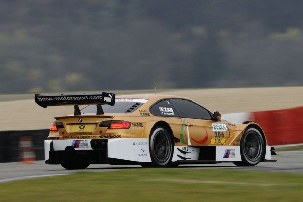 Alex Zanardi Drives Golden BMW M3 At Nürburgring (DTM)