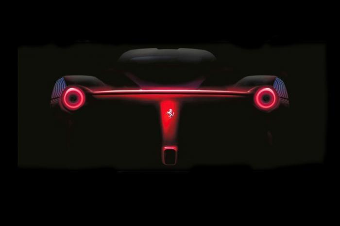Ferrari F150 Teaser Photos (INDUSTRY)