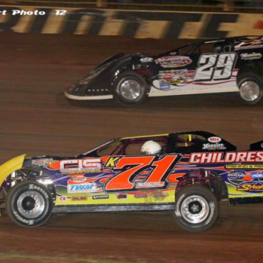 2012 Darrell Lanigan - World Of Outlaws (DIRT LATE MODEL)