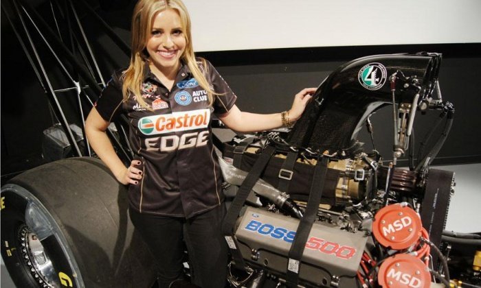 NHRA TOP FUEL: Brittany Force Joins John Force Racing (PHOTOS)