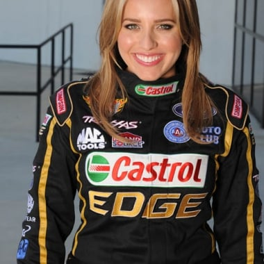 2013 Brittany Force Joining John Force Racing (NHRL Top Fuel)
