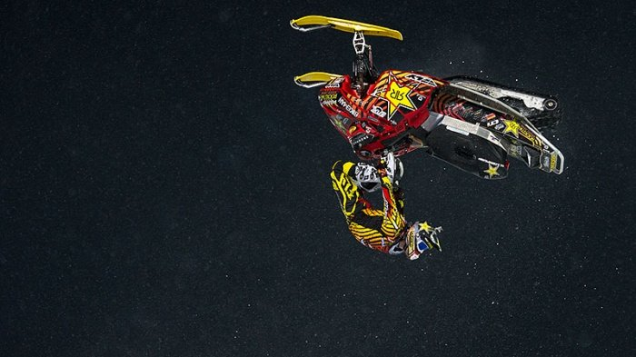2013 Caleb Moore Snocross Crash (X Games)