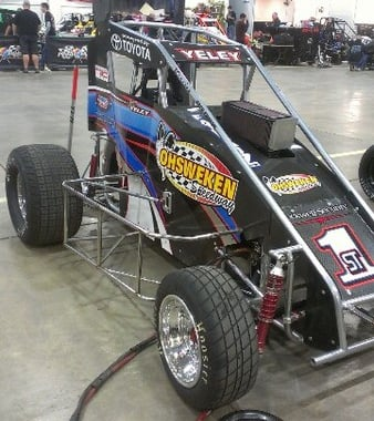 2013 JJ Yeley Dirt Midget Photo (Chili Bowl Nationals)