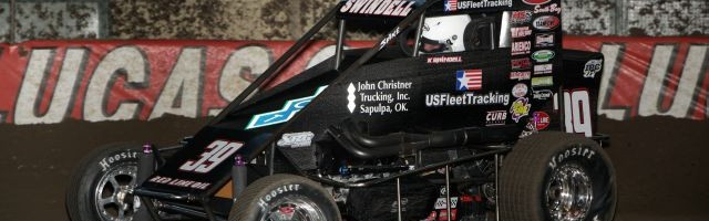 DIRT MIDGET: Kevin Swindell Perfect on Christner Qualifying Night