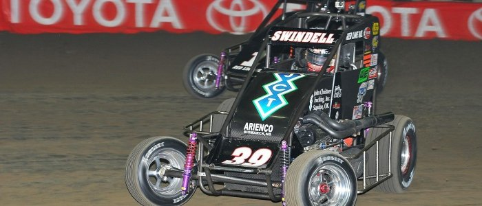 DIRT MIDGET: Swindell Conquers for Fourth Straight Chili Bowl
