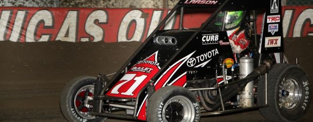 DIRT MIDGET: Larson Tops Chili Bowl Qualifier; Swindell takes VIROC V Win