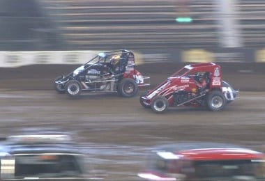 2013 Larson and Kasey Kahne Dirt Midget Photo (Chili Bowl Nationals)