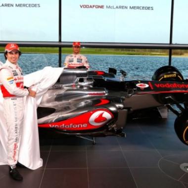 2013 McLaren Mercedes MP4-28 (Formula One)