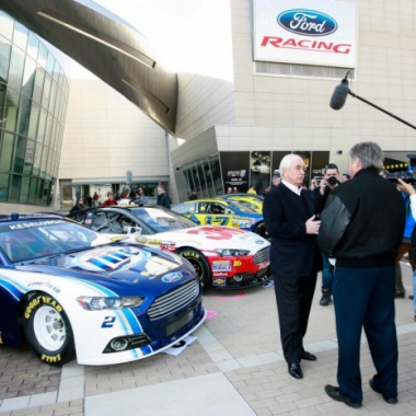 2013 NASCAR Media Day - Ford Racing (NASCAR Cup Series)
