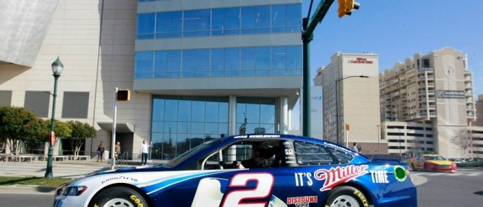 NASCAR: Ford Racing Drives Through Charlotte Streets (PHOTOS)