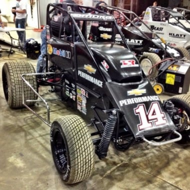 2013 Tony Stewart Dirt Midget Photo (Chili Bowl Nationals)