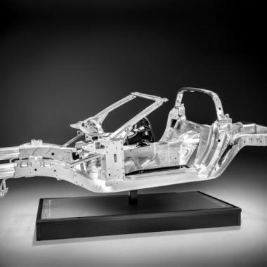 2014 Chevy Corvette C7 Aluminum Frame (INDUSTRY)