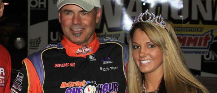 DIRT LATE MODEL: Billy Moyer Starts 2013 Season with Tucson Win