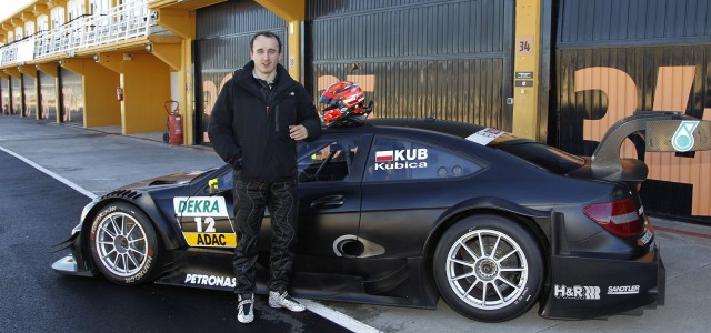DTM: Robert Kubica First Test For DTM At Valencia (Photos + Video)