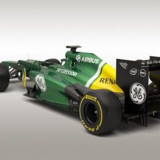 2013 Caterham CT03 Launch Images (Formula One)