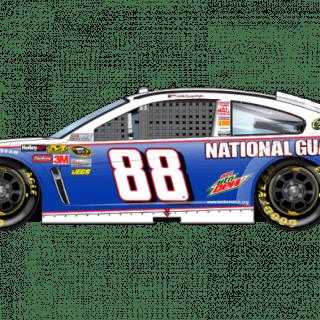 2013 Dale Earnhardt Jr National Guard Sprint Unlimited Car (NASCAR CUP SERIES)