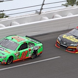 2013 Danica Patrick Leads Daytona 500 Lap (NASCAR CUP SERIES)