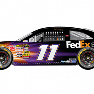 2013 Denny Hamlin FexEx Express Sprint Unlimited Car (NASCAR CUP SERIES)