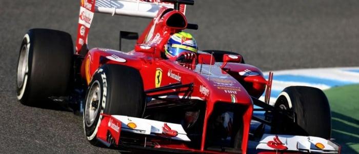 F1: Scuderia Ferrari F138 Jerez Circuit Photos