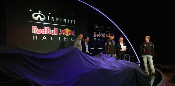 F1: Infiniti Red Bull Racing Debuts RB9 Car