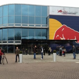 2013 Infinity Red Bull Racing Factory On Launch Morning (Formula One)