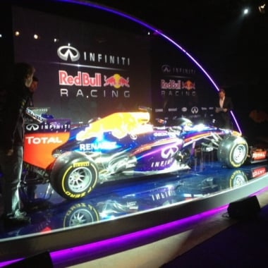 2013 Infinity Red Bull Racing RB9 Chassis (Formula One)