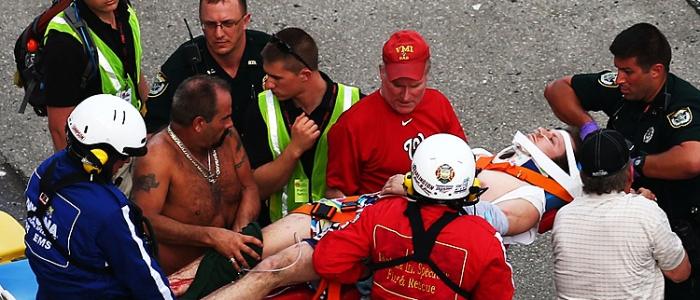 NASCAR: Daytona Fans Injured Planning To Sue DIS