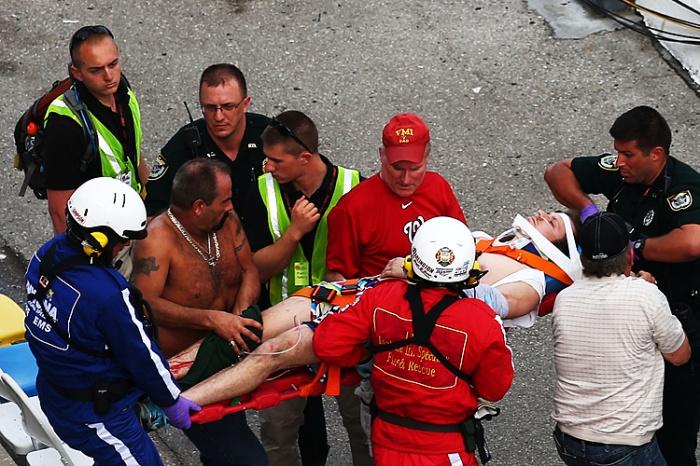 2013 Injured Spectators - Daytona International Speedway (NASCAR Nationwide Series)