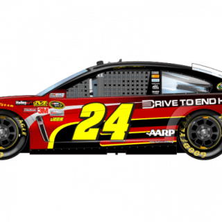 2013 Jeff Gordon Drive To End Hunger Sprint Unlimited Car (NASCAR CUP SERIES)