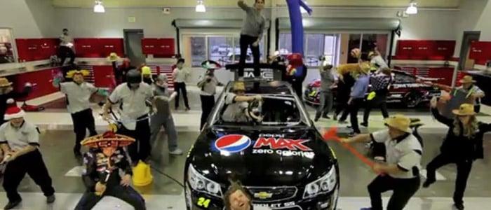 NASCAR CUP: Harlem Shake Jeff Gordon Edition