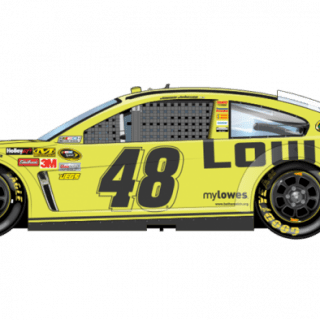 2013 Jimmie Johnson Lowes Sprint Unlimited Car (NASCAR CUP SERIES)