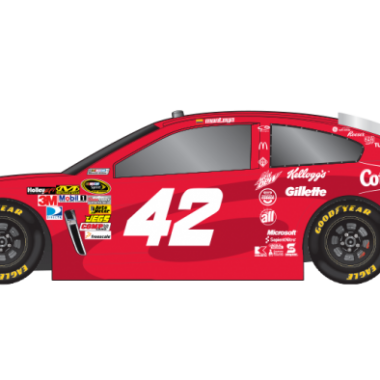 2013 Juan Pablo Montoya Target Sprint Unlimited Car (NASCAR CUP SERIES)