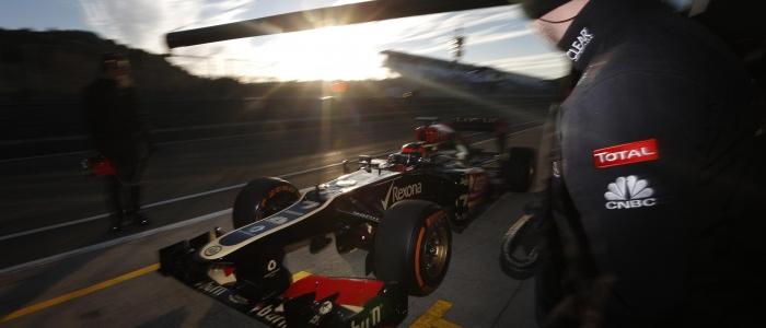 F1: Jerez Day Four – Raikkonen On Top With Lotus